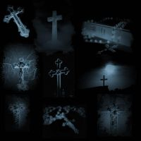 Gothic Crosses by midnightstouch