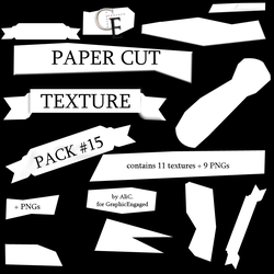 TexturePack #015 - PaperCuts for GraphicEngaged by stonerscole