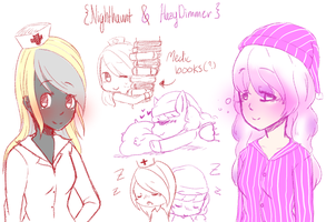 [Skt Request] Nighthaunt and Hazy Dimmer by lazystars