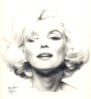 Marilyn Monroe by Ethan-Carl