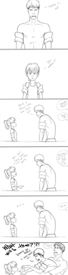 Jean Meets a New Rival by fangirlregretsnothin