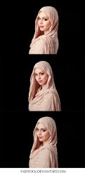 Veil - Portrait Reference pack 9 by faestock