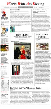 WWAK Front page by dash102030