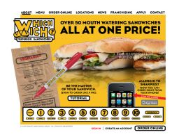 Which Wich Website 1st draft by tlsivart