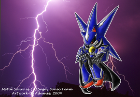 Metal Sonic Heroes version by ThePandamis