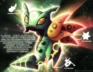 PokeFusion: Volsparza by Deltheor