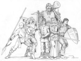 GURPS adventuring Group by mjarrett1000