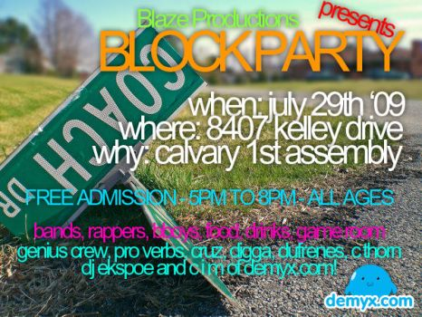 Block Party by Manacim