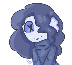 Smol Fish Gorl by charareapertale