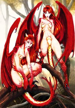 Two hybrid Red by larkabella