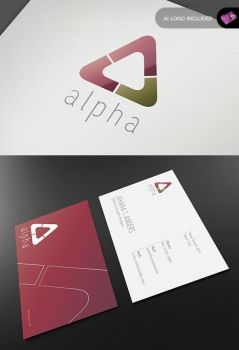 Alpha Series - Stationary + Identity by isoarts2