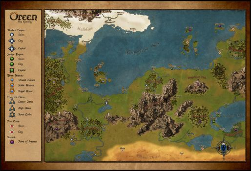 Oreen Map by Eragon2589