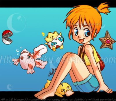 :Pokemon : Misty by yomiku