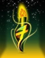 Jamaica - Olympic Torch by KingFranco