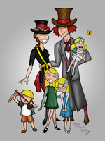 The Paulsons Family - The Animated Series by Digital-Jedi