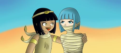 Ra and Hatchepsout by Gregory-GID-DID
