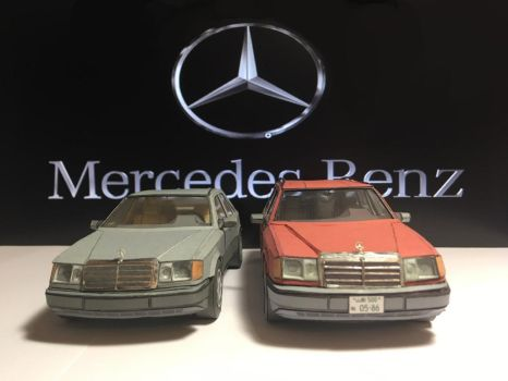 Mercedes Benz W124 (S124) by SulikGT