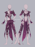 Outfit Commission front and back 2 by Epic-Soldier