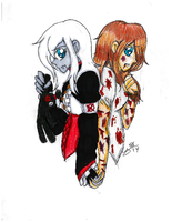 TRADITIONAL: Ally- Then And Now by InvaderIka