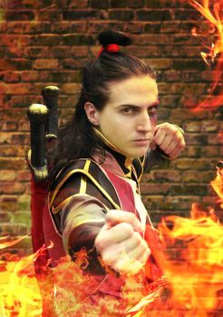 Grown up Zuko cosplay Firebending ver by kelly1412