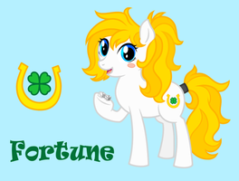 MLP:FiM OC - Fortune by ShadOBabe
