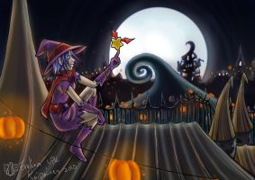Commish: Anniexo HalloweenTown by Lord-Evell