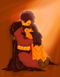 Become- Dick + Damian by none-of-the-sort