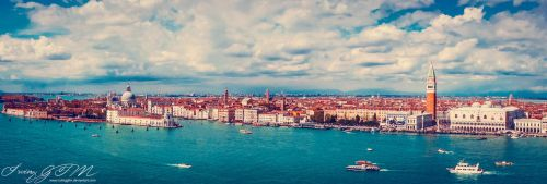 Venice: View from St. Giorgio's Campanile by IrvingGFM