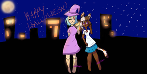 Happy Happy Halloween by CallaEclipseKitty