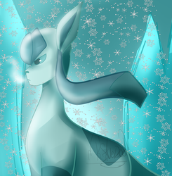 Glaceon by Kittensaver2001
