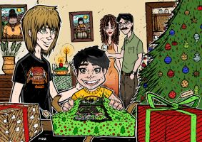 CONTEST WACOM CHRISTMAS COLORS by mdayer