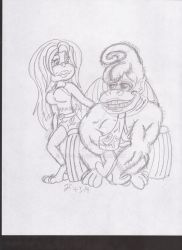 donkey and candy kong by ALH-glad