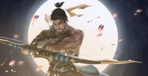 Overwatch - Hanzo by runezies