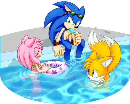 Pool by Myly14