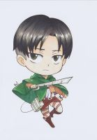 Levi Ackerman by CrystalMelody-FT