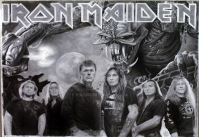 Iron Maiden, Final Frontier by Polonx