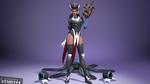 [SFM] Symmetra Magician [Overwatch] [Model] by Kemot44