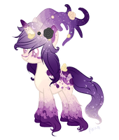 Purple Deer Pony Auction PAYPAL ONLY-(CLOSED) by Faw-n