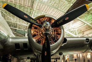 B17 engine by in-my-viewfinder