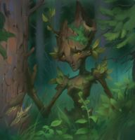Forest creature 1 by DmitriyBarbashin