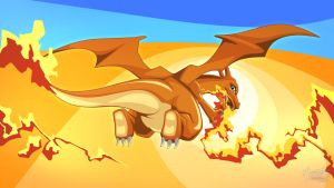 Charizard by mysticalpha