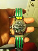 Green Mighty Morphin Power Rangers communicator by ZanderYurami