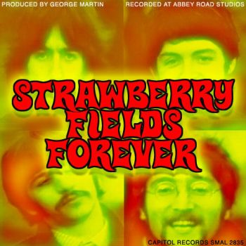 Beatles Strawberry Fields Forever  45 Record Sleev by besound410