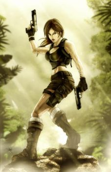 SW:Tomb Raider Lara Croft by digitalninja