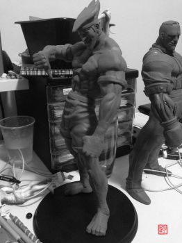 STREET FIGHTER STATUE preview by rgm501