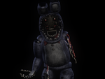 (C4D)Withered Bonnie by SpringBonnieNotTrap
