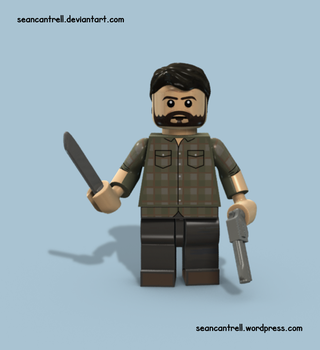 Lego Joel - The Last of Us by seancantrell