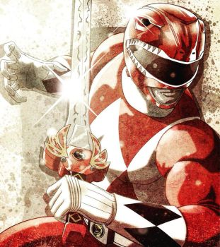 Red Ranger by Fuacka