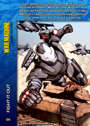 War Machine Special - Fight It Out by overpower-3rd