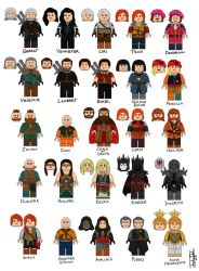 The Witcher CMF series by joshuad17
